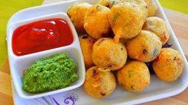 Potato Rawa Vada