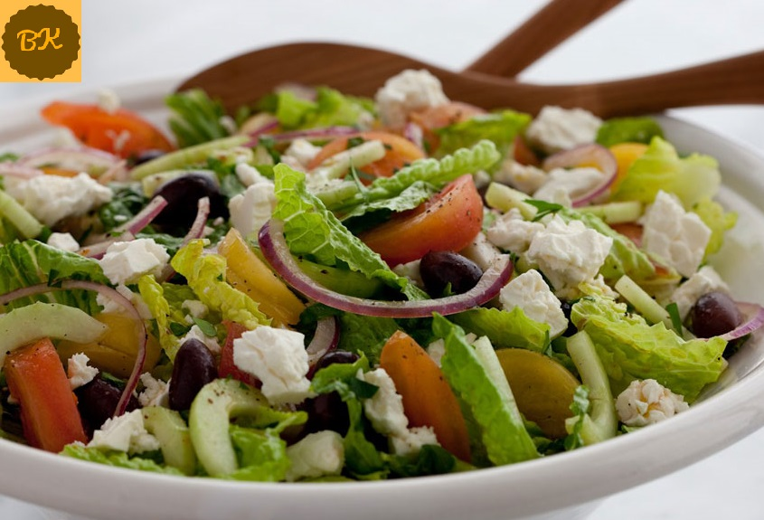 Vegetable Greek Salad