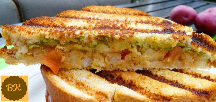 Potato Grilled Sandwich